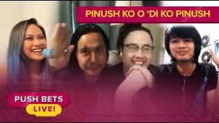 OPM Band Gracenote takes on the 'Pinush Ko o Di Ko Pinush' Challenge | Push Bets Live