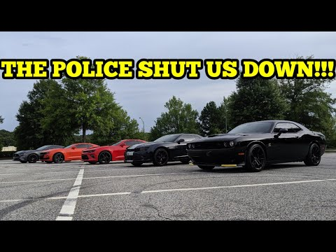 2019 10 SPEED CAMARO SS VS. 1320 SCATPACK!!! THE POLICE SHOWED UP!!