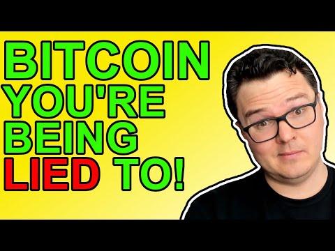 Buy Bitcoin: Elites Caught In MASSIVE Lie!