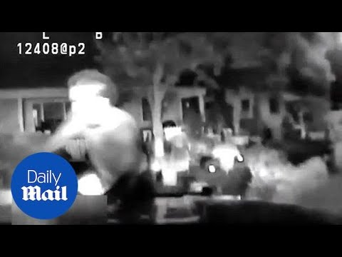 Shocking moment cops run down 16-year-old in Sacramento - Daily Mail