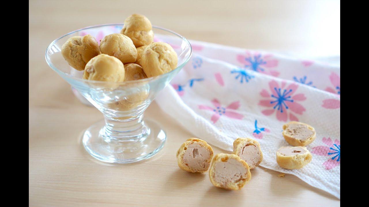 【 副食品 】適合一歲以上寶寶的酥脆小泡芙&泡芙冰淇淋 - YouTube