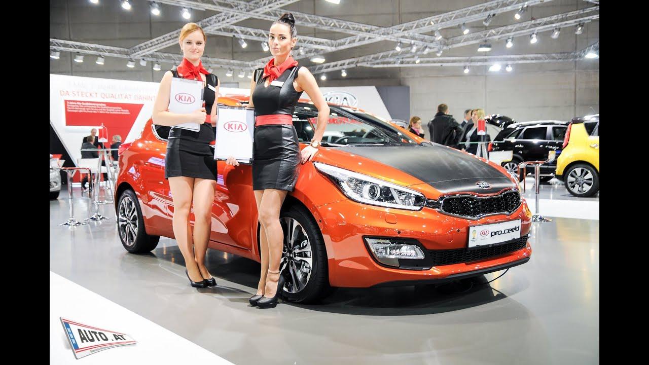 Vienna auto show 2014 messe wien hei e hostessen und sexy messe m dchen