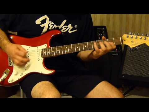 The Who - Happy Jack - guitar cover