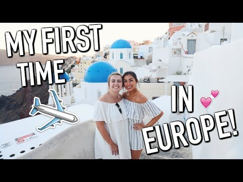 From London to Greece! Santorini, Greece Day 1!