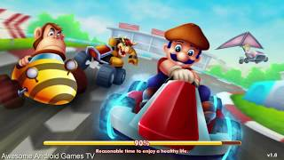 Super Mario Go Kart Party: Super Racing World Game For Kids - Android GamePlay Video FHD