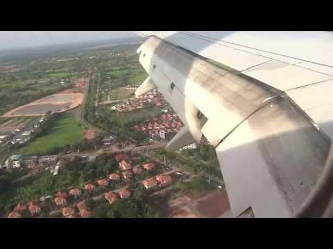 Nokair landing Udonthani นกแอร์ลงสนามบินอุดรธานี