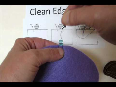 Bead Embroidery Basics Clean Edge Stitch