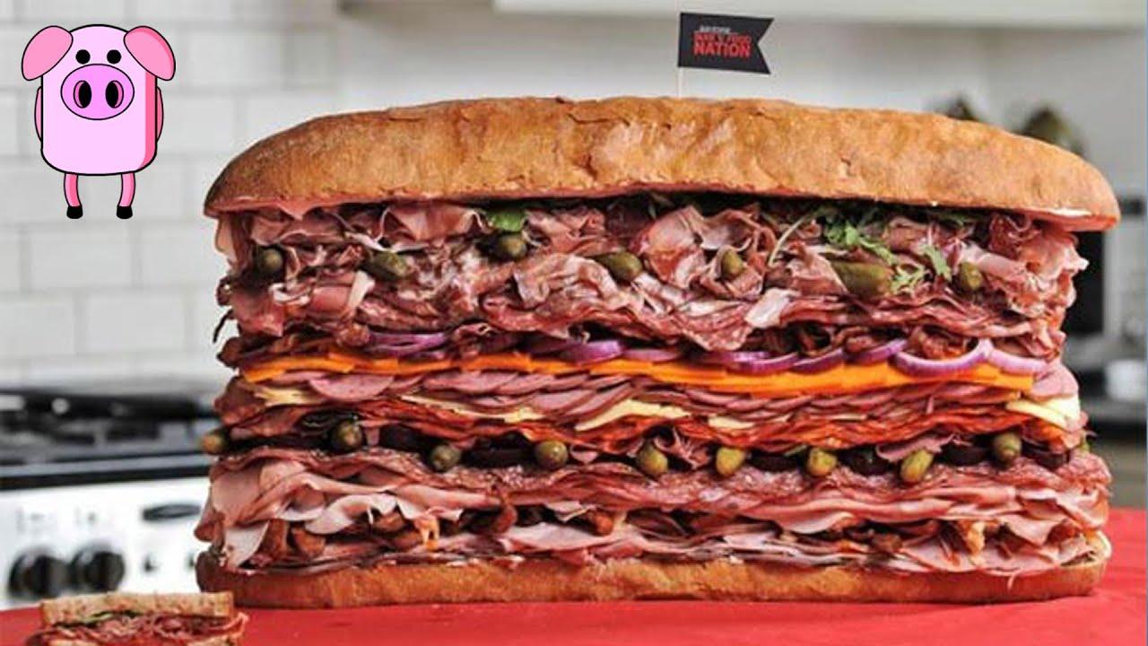 Silly Sandwiches of the World - SlappedHamTV - YouTube