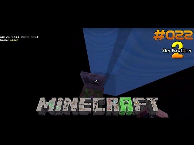 Let's Play Minecraft Sky-Factory 2 | Doppel-Tot Vertuschen | Folge #022