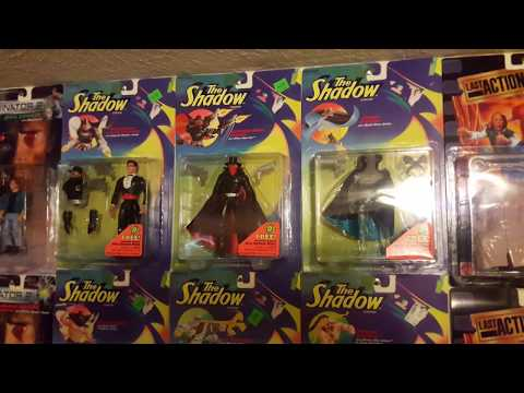 From my personal collection - Kenner's The Shadow movie action figures!