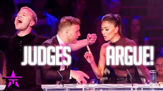When JUDGES Get To ARGUE With Each Other LIVE TV on X FACTOR!