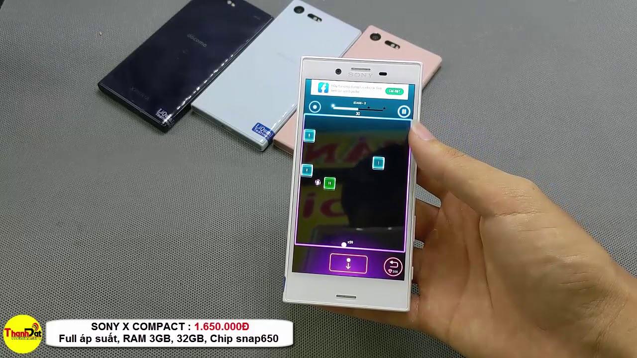 Thành Đạt Mobile | Trên tay Sony X Compact zin 100% Full áp suất kháng nước giá siêu rẻ
