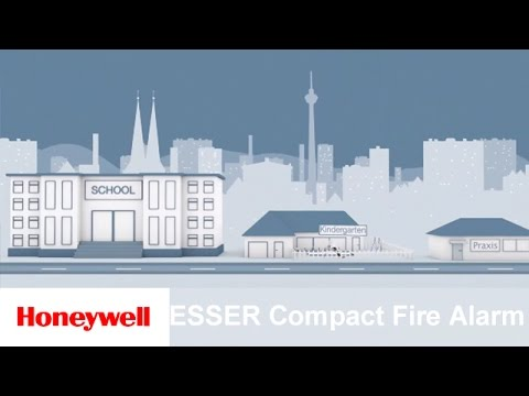 ESSER Compact Fire Alarm Control Panel | Safety & Security | Honeywell