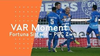 Een penalty voor PEC Zwolle | ARAG KNVB VAR Moment van de Week