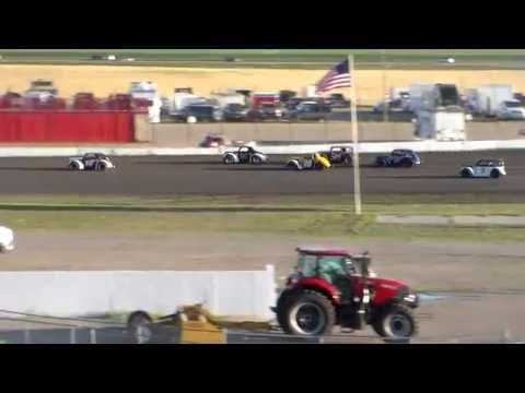 Red River Valley Speedway INEX Legends Heats (8/12/16)