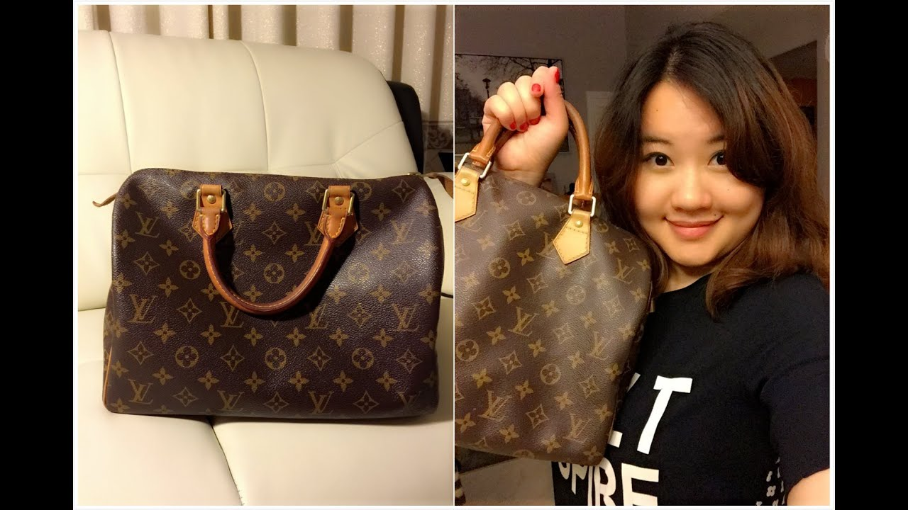 f2e4adaba6d3 What s in My Bag + Louis Vuitton Speedy 30 Review - YouTube