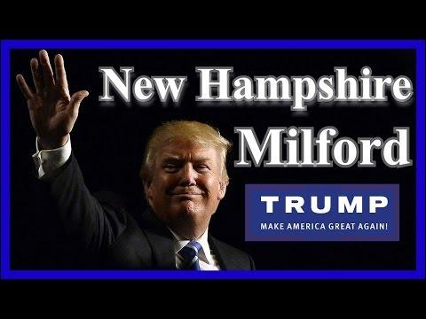 LIVE Donald Trump Rally Milford New Hampshire Hills Athletic Club FULL SPEECH HD February 2 2016 ✔