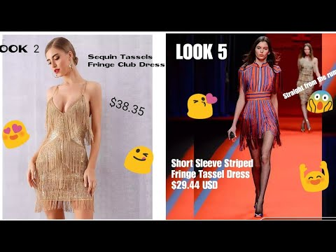 Top 10 Tassel Dresses and Jumpsuits from Fashionnova and Aliexpress || Shop This Look 😍