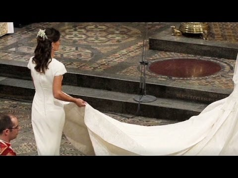 Pippa: My dress 'fit a little too well'