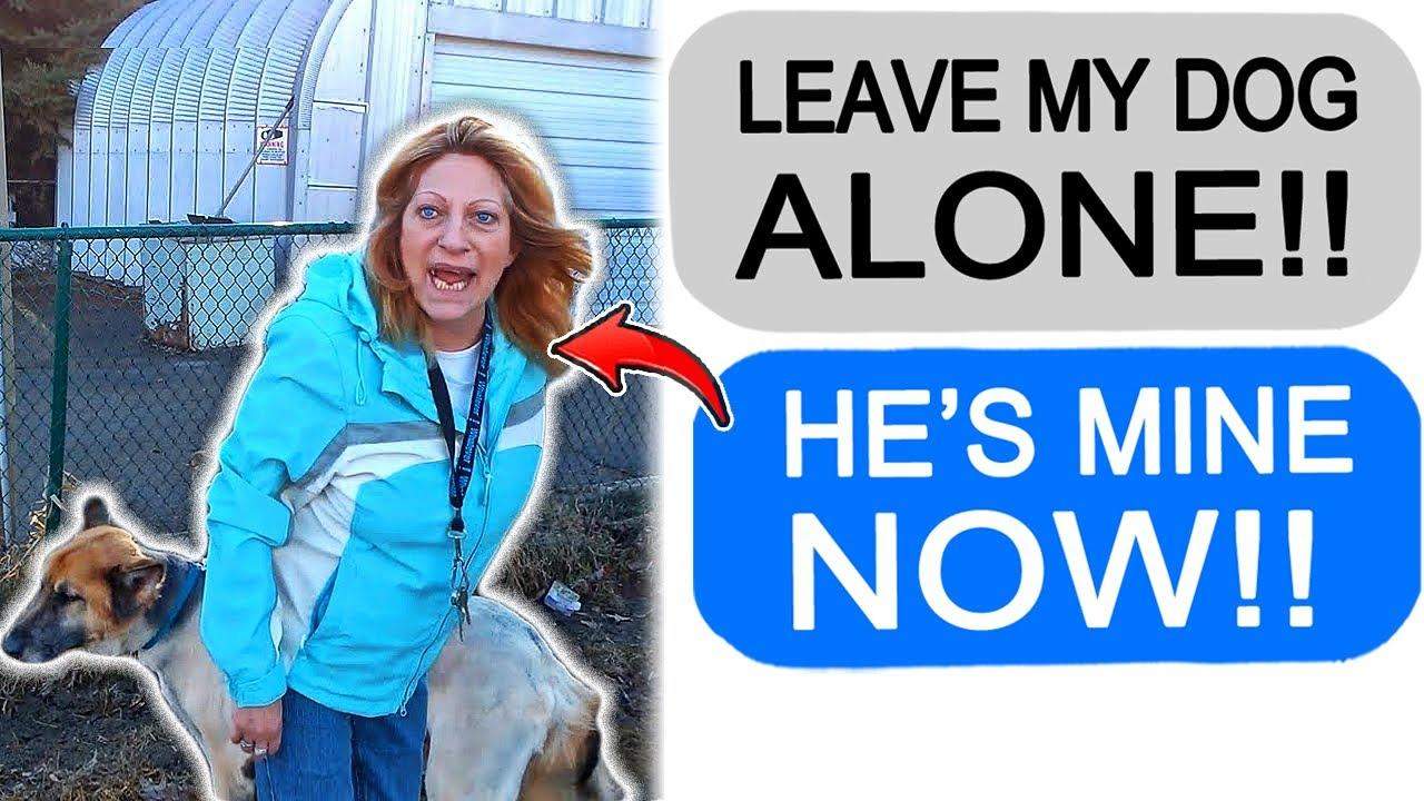 """r/Entitledparents """"KAREN DEMANDS TO PET MY DOG!"""""""