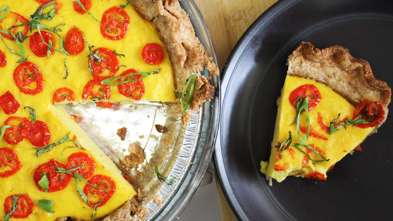How to Make Vegan Quiche | Recipe by Mary's Test Kitchen
