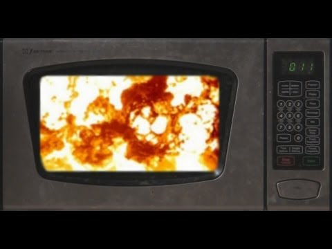 Cat Food Ratings >> Microwaves And Exploding CDs - YouTube