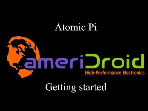 Atomic Pi- Getting Started