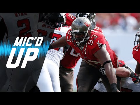 Gerald McCoy vs. Falcons Mic