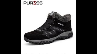 Зимние мужские кроссовки с AliExpress