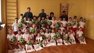 Футбольный клуб «Уфа» провел урок физкультуры в Гимназии №93