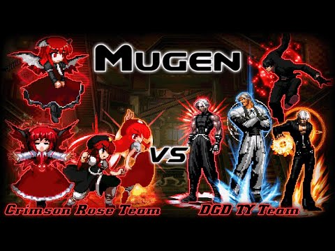 [MUGEN] Crimson Rose Team VS DGD TY Team