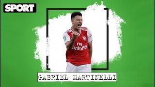 ¿Quién es GABRIEL MARTINELLI? La joya del ARSENAL que pudo acabar en EL FC BARCELONA *EL ESCAPARATE*