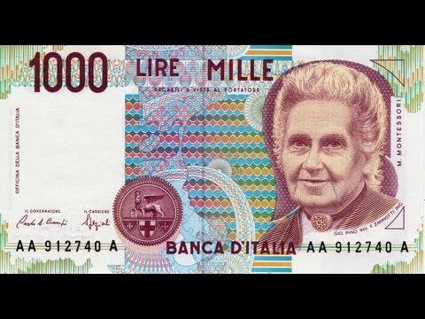 Collezione delle Banconote in Lire della Banca d'Italia - Italian Bank of Italy Lire Collection