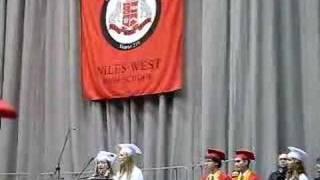 Niles West Graduation 2008 National Anthem