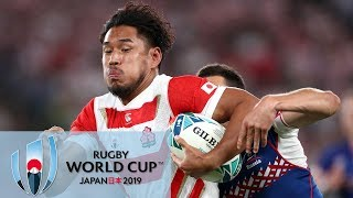 Rugby World Cup 2019: Japan vs. Russia | EXTENDED HIGHLIGHTS | 9/20/19 | NBC Sports