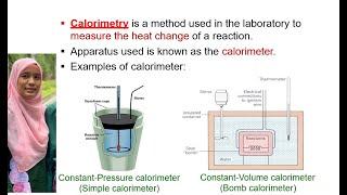 SK025 Subtopic 9.2 Thermochemistry- Calorimetry
