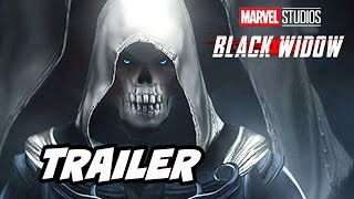 Black Widow Trailer - Black Widow vs Taskmaster Scene Marvel Avengers Easter Eggs