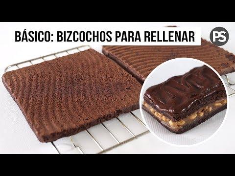 BIZCOCHO DE CHOCOLATE  PARA RELLENAR CON Y SIN HORNO | SALUDABLE Y VEG