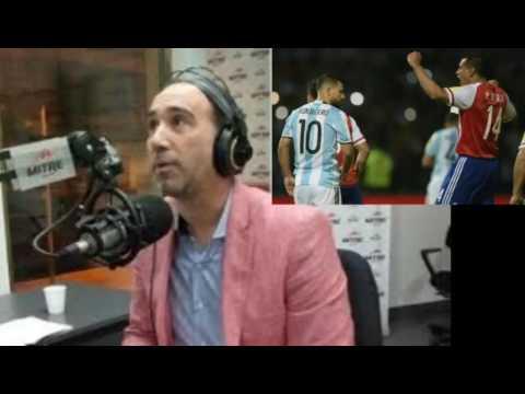 "Anello re caliente con Argentina por derrota con Paraguay ""Se fueron como ratas"" - 11 Oct 2016"