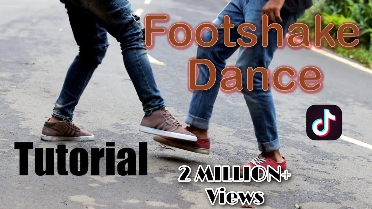 Tiktok How To Do The Foot Shake Dance Tutorial Song Name And Artist