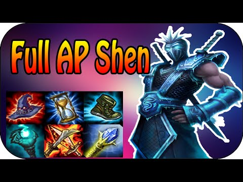 800+ AP Shen Mid - 2500 Ultimate Shield [Ger]