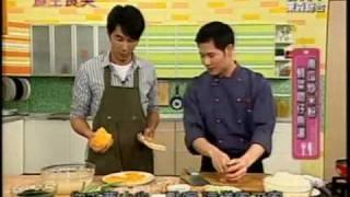 南瓜炒米粉、蚵菜吻仔魚湯(上)(張明和)