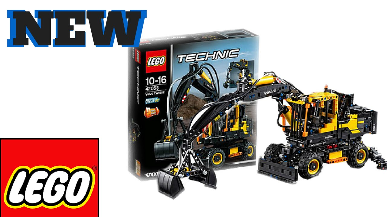 new lego technic set images 2016 volvo ew160e youtube. Black Bedroom Furniture Sets. Home Design Ideas