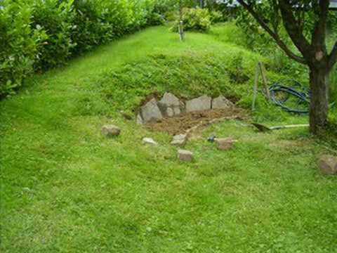 Garden Rockery In Two Hours YouTube