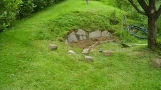 garden rockery in two hours