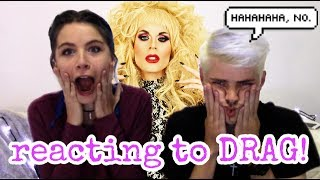 UNCENSORED | Reacting To RuPaul Drag Queens | Part Two