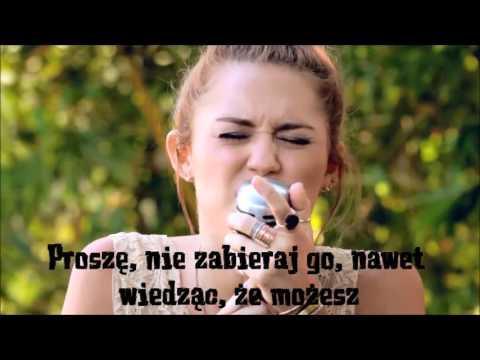 "Miley Cyrus - The Backyard Sessions - ""Jolene"" (napisy pl ..."