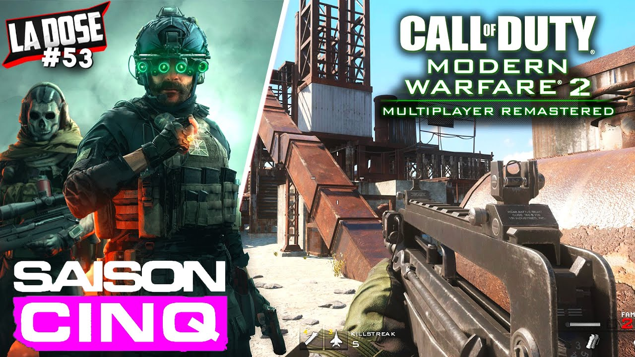 NOUVELLE MAP WARZONE, MODERN WARFARE MULTIPLAYER REMASTERED & PATCH RYTEC AMR (LA DOSE #53)
