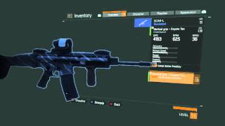 The Division - SCAR-L Performance Gear Mod Crafted Repurposed Mod (+ 2.50% Turret Attack Damage)