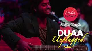 Arijit Singh - MTV Unplugged - Duaa